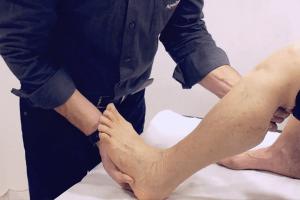 כאבים בקרסול ובכף הרגל