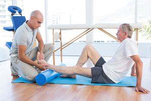 פיזיותרפיה לאחר שברים בקרסול