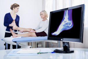 כאבים בקרסול - אפסותרפיה